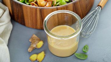 VINAIGRETTE gingembre et beurre arachide