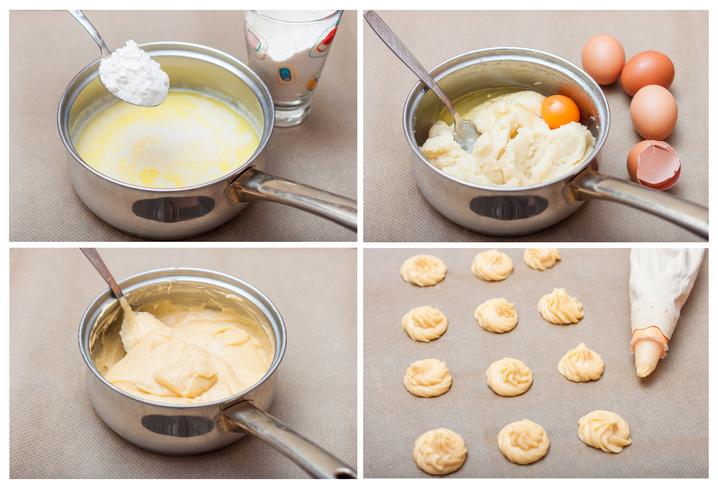 préparation pâte à choux