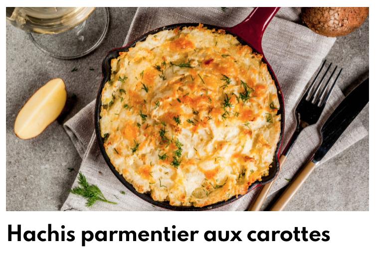 Hachis parmentier carotte