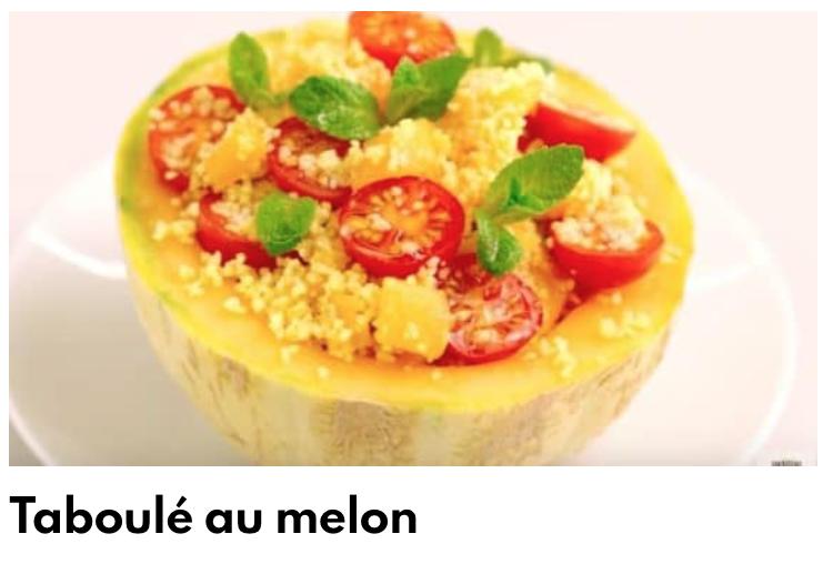 Taboulé au melon