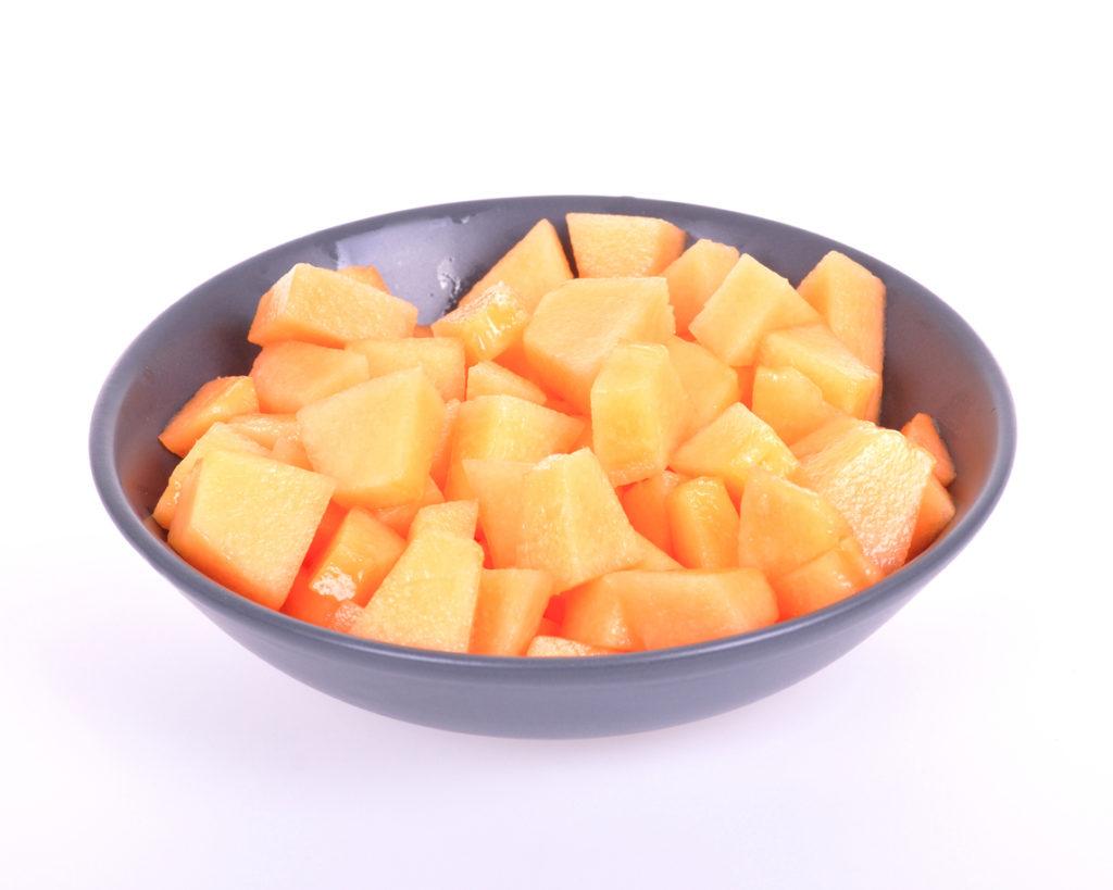Melon en dés