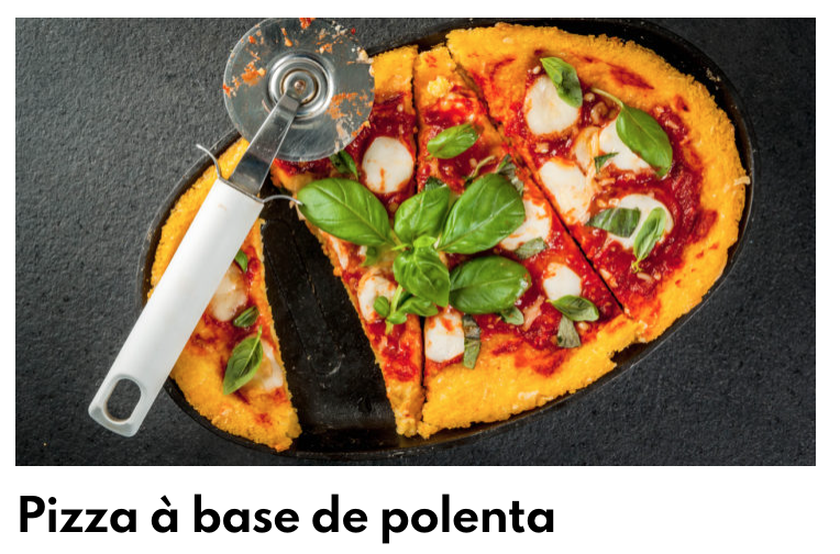Pizza à base de polenta