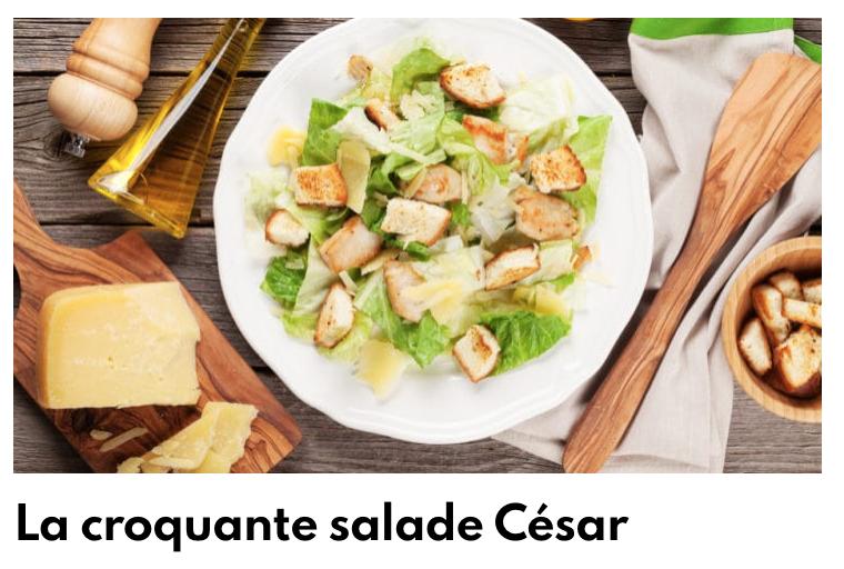 Croquante salade césar