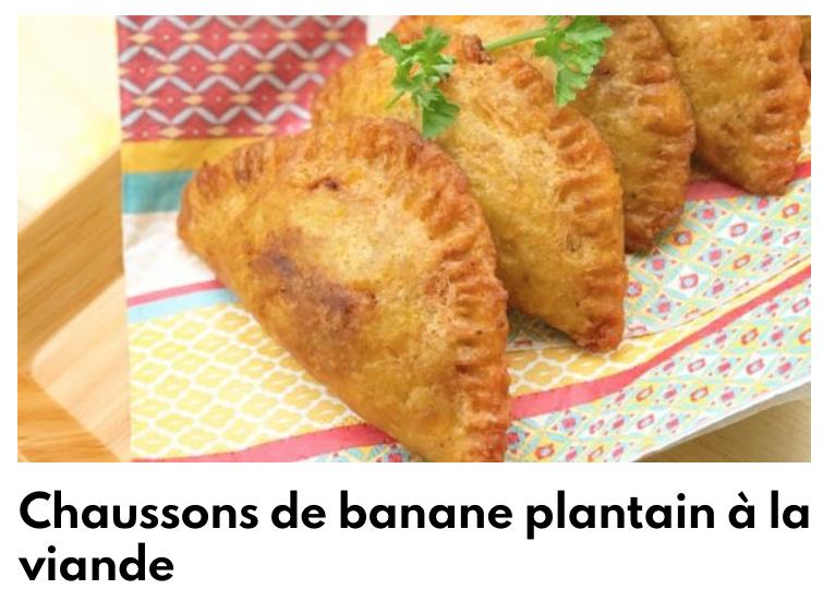 Chausson de banane plantain