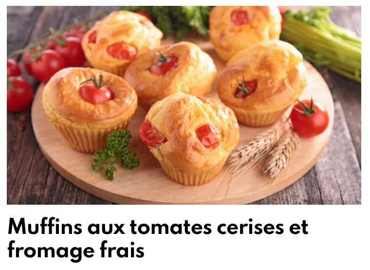 Muffins tomates