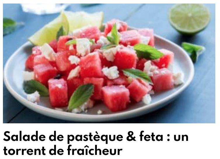 Salade de pastèque feta