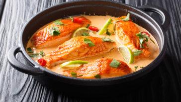 Saumon sauce thaï