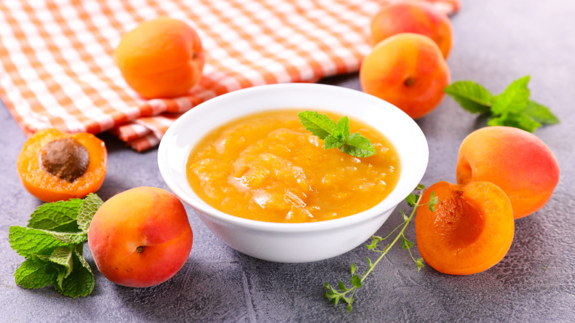 Compote d'abricot