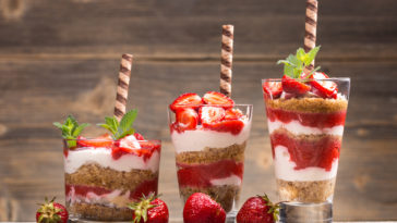 Coupe mascarpone fraises speculoos