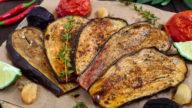 Aubergines grillées aux épices