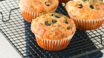 Muffins aux olives