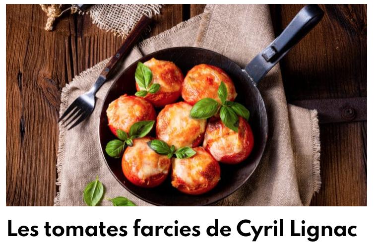 Tomates farcies façon Lignac