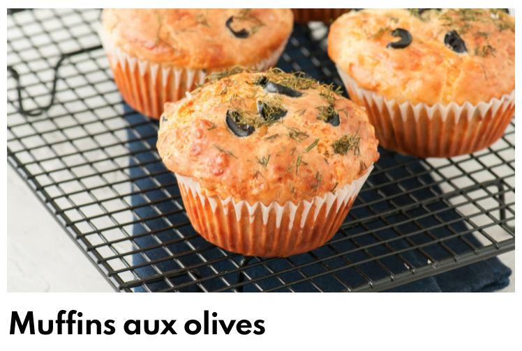 Muffins olive