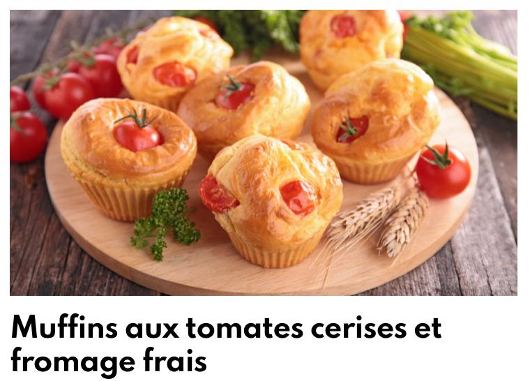 Muffins tomates cerises