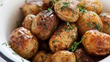 Pommes de terre grenailles au four