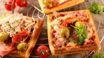 Gaufres pizza