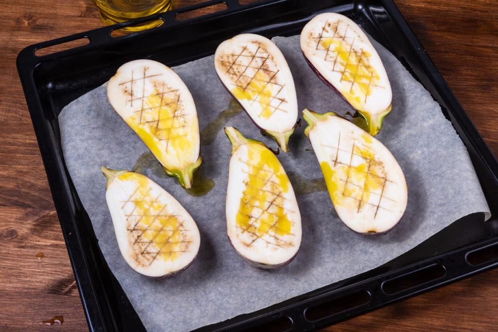 Aubergines gratinées