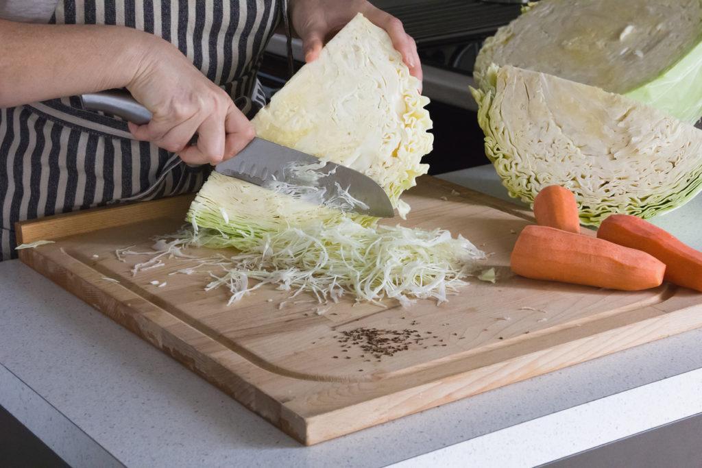 Chou râpé pour coleslaw