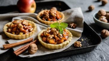 Tartelettes pommes caramélisées