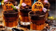 Verrines chocolat halloween